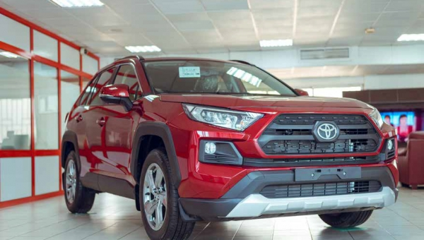 The 2019 Toyota RAV4 SUV, a masterpiece for all!