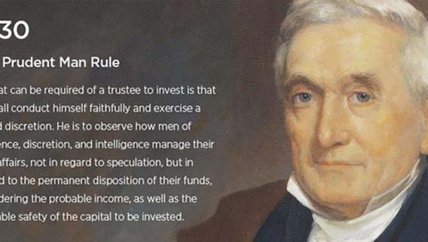 Is the Prudent Man wiser than the Prudent Investor?