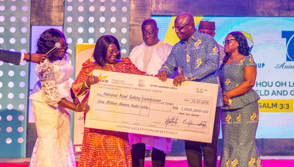 At 16, First Sky Group gives thanks to the Almighty God for tremendous Growth and Expansion …donates GH¢1m to road safety agenda