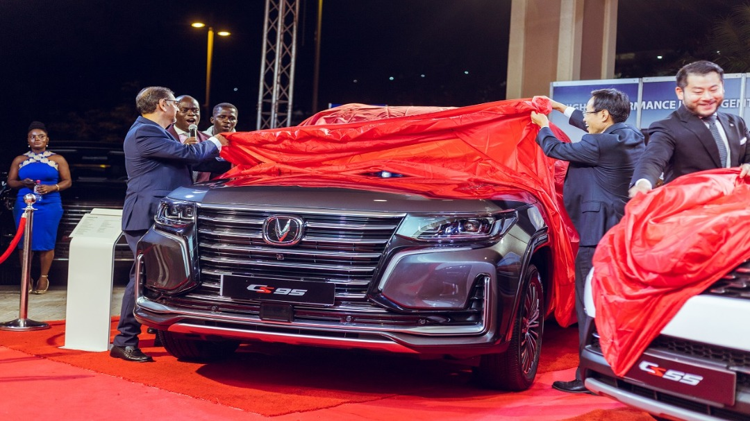 STALLION MOTORS GHANA LTD UNVEIL THE 2020 CS95 AND CS55