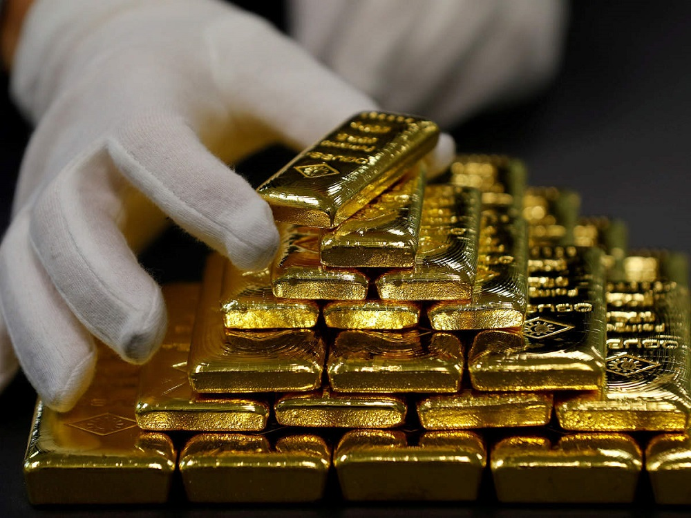 Gold Set for Its Biggest Weekly Gains Since 2008