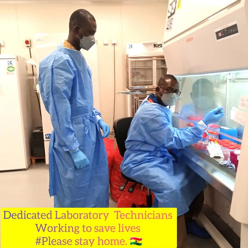The University of Ghana Scientists' discovers SARS-CoV-2, the virus responsible for the global COVID-19 pandemic.