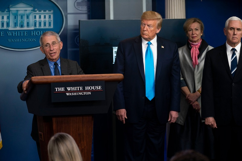 Donald Trump wants Dr. Anthony Fauci to be The Fall Guy Amid Criticism of Slow Virus Response