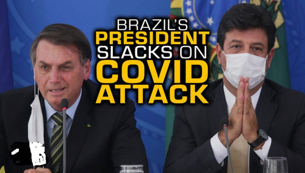 COVID-19 Crisis - Brazil Health Secretary Resigns, Health Minister 'likely To Be Fired'