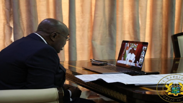 Develop Specific Strategy to Respond to COVID-19; don't mimic others– Nana Addo to ECOWAS leaders