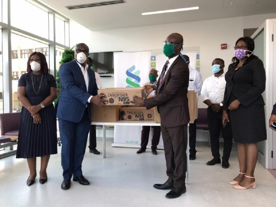 StandChart Bank donates to Greater Accra Regional Hospital