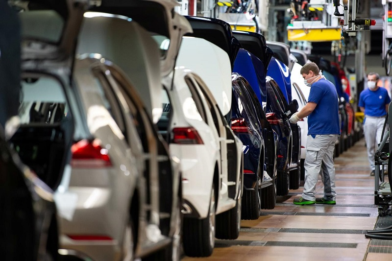 Volkswagen reopens factory after coronavirus shutdown