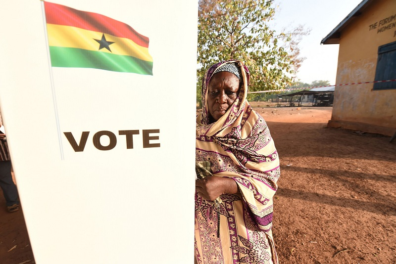 COVID19 cast a stone at Ghana's presidential election