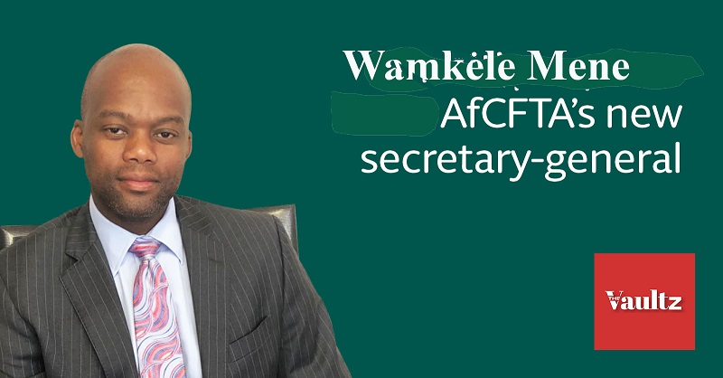 Wamkele Mene's resilience in the face of Pandemic bolsters confidence in AFCFTA