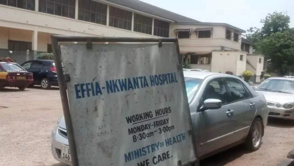 Three Units of Effia-Nkwanta Hospital shut down after staff member tests positive for COVID-19