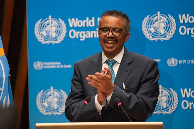 WHO Boss reaffirms triple billion target at the 73rd World Health Assembly virtual meeting