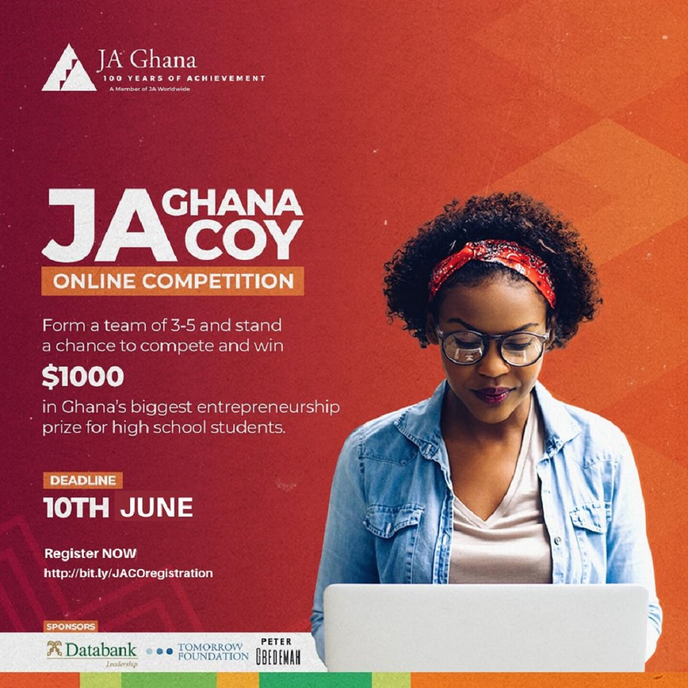 JA Ghana to organize virtual entrepreneurship competition for Senior High School
