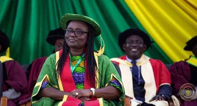 KNUST appoints Prof. Rita Akosua Dickson as new Vice-Chancellor