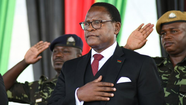 I do feel like Lazarus, I've come back from the dead- newly elected Malawian president, Lazarus Chakwera declares