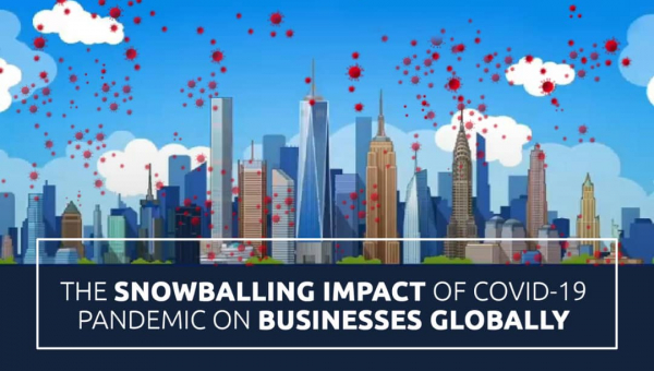 THE SNOWBALLING IMPACT OF COVID-19 PANDEMIC ON BUSINESSES GLOBALLY