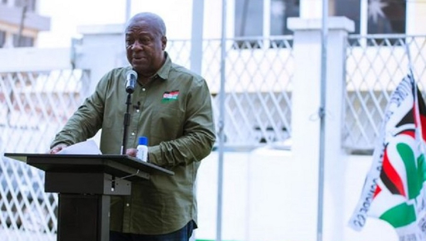 John Mahama to disclose his running mate today