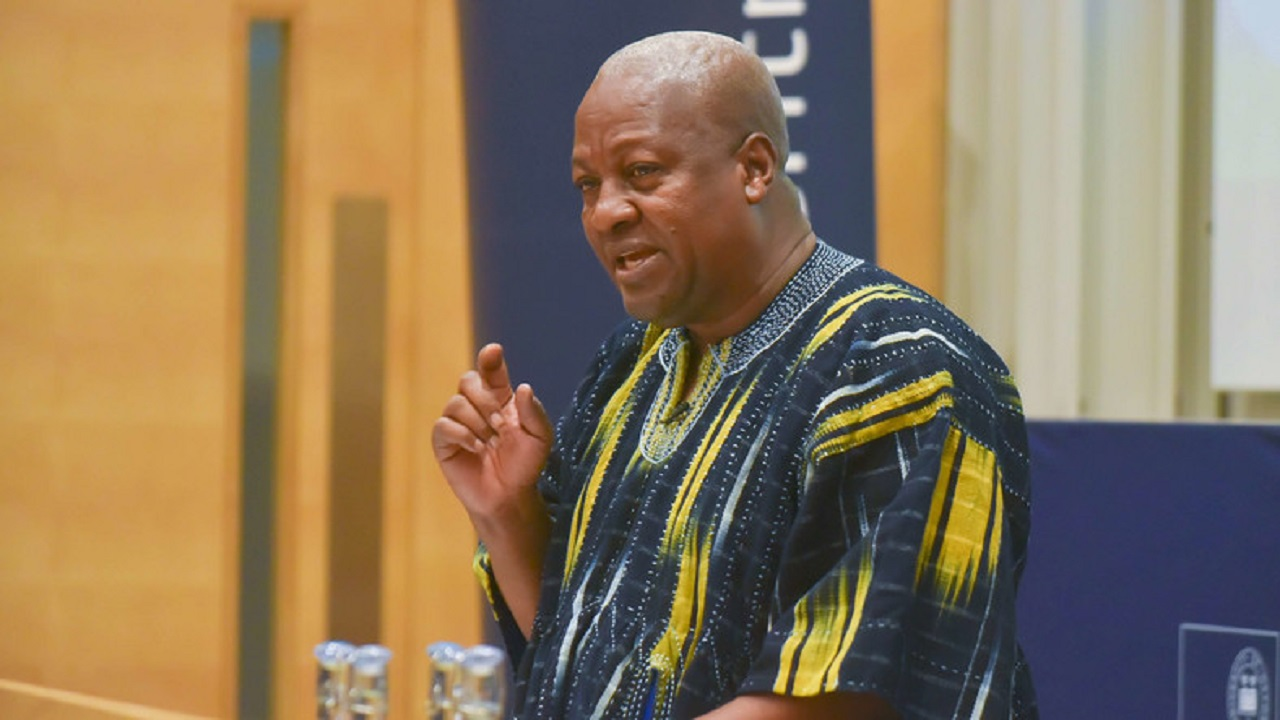 Gov't must put an end to making excuses for corruption – Mahama