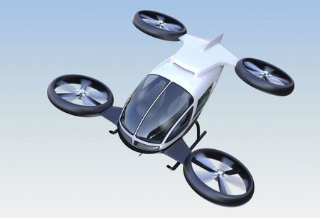 Porsche Boeing flying taxi