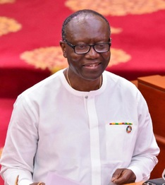 Hon. Ken Ofori-Atta, former Minister for Finance and Economic Planning